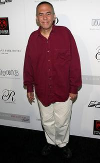 Gilbert Gottfried at the Pre-VMA Party hosted by Nick Lachey at The Cellar Bar at the Bryant Park Hotel.