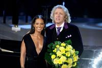Alicia Keys and Thomas Gottschalk at the 177th