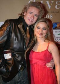 Thomas Gottschalk and Regina Halmich at the Diva Awards.