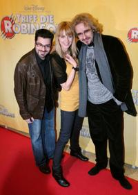Rick Kavanian, Eva Padberg and Thomas Gottschalk at the German premiere of
