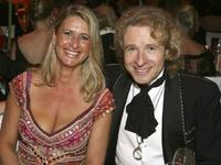 Raphaela Ackermann and Thomas Gottschalk at the 2007 Sports Gala