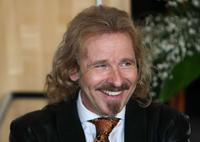 Thomas Gottschalk at the ceremony of