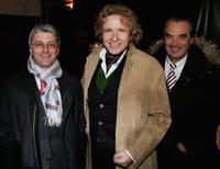 Rupert Stadler, Thomas Gottschalk and Ralph Weyler at the Audi Party Night.