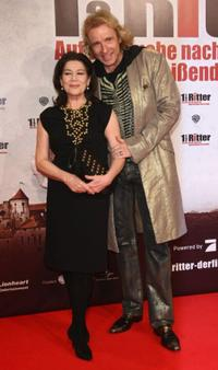 Hannelore Elsner and Thomas Gottschalk at the Berlin premiere of