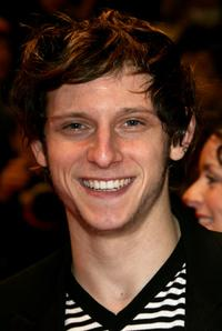 Jamie Bell at the Golden Bear Award Ceremony during the 57th Berlin International Film Festival (Berlinale).