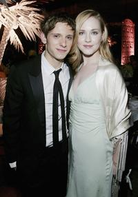Jamie Bell and his girlfriend Evan Rachel Wood at the