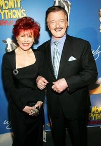 Robert Goulet and his wife Vera Goulet at the premiere of