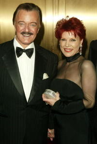 Robert Goulet and his wife at the 59th Annual Tony Awards at Radio City Music Hall.