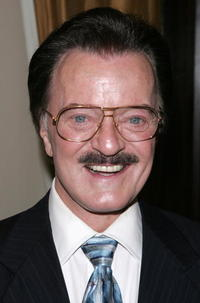 Robert Goulet at the 2005 Drama Desk Awards nominations at the Friars Club.