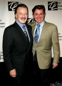 Robert Goulet and Gary Beach at the 71st Annual Drama League Awards Luncheon at the Marriott Marquis Hotel.