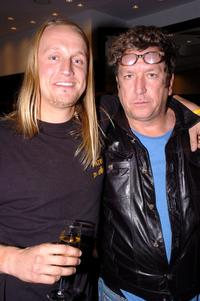 Alex Orbison and Steve Jones at the Chrome Hearts Las Vegas Grand Opening Celebration.