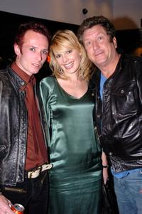 Scott Weiland, wife Mary Weiland and Steve Jones at the Chrome Hearts Las Vegas Grand Opening Celebration.