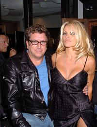 Steve Jones and Pamela Anderson at the Chrome Hearts Las Vegas Grand Opening Celebration.