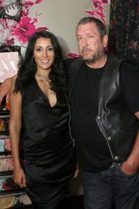 Serena Rees and Steve Jones at the launch of Agent Provocateur's new book