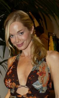Jennifer Gareis at the Hollywould Dress Collection launch party.