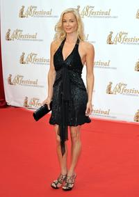 Jennifer Gareis at the opening night of the 2008 Monte Carlo Television Festival.