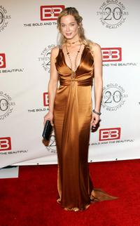 Jennifer Gareis at the Bold And The Beautiful gala celebrating the shows 20 year anniversary on the air.