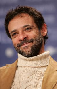 Alexander Siddig at the press conference of