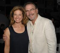 Nancy Travis and Bill Engvall at the 2008 Summer TCA Tour Turner Party.