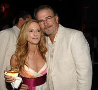 Holly Hunter and Bill Engvall at the 2008 Summer TCA Tour Turner Party.