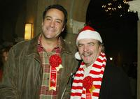 Brad Garrett and Bill Engvall at the 73rd Annual Hollywood Christmas Parade.