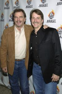 Bill Engvall and Jeff Foxworhty at the Comedy Centrals Jeff Foxworthy Roast.