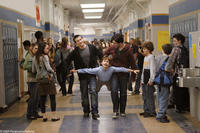 Emmit (David Dorfman) is terrorized by two school bullies, Filkins (Alex Frost) and Ronnie (Josh Peck) in