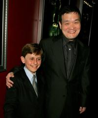 David Dorfman and Director Hideo Nakata at the premiere of