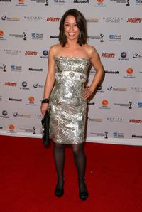 Sofie Grabol at the 36th Annual International Emmy Awards.