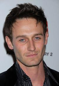 Josh Stewart at the premiere of