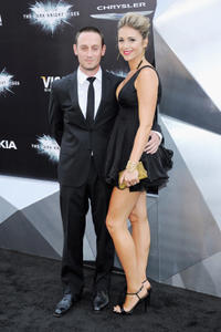 Josh Stewart and Deanna Brigidi-Stewart at the New York premiere of