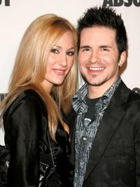 Hal Sparks and his date at the 16th Annual GLAAD Media Awards.