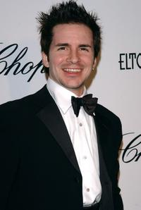 Hal Sparks at the 13th Annual Elton John Aids Foundation Academy Awards Viewing Party.
