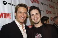 Robert Gant and Hal Sparks at the premiere of