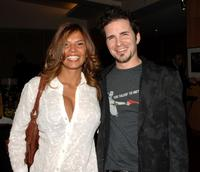 Amy Lumet and Hal Sparks at the 30th anniversary screening of