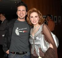 Hal Sparks and Katharine Kramer at the 30th anniversary screening of