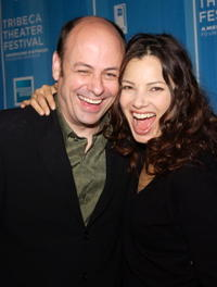 Todd Graff and Fran Drescher at the Michael Schimmel Center for the Arts at Pace University for the 1st Annual Tribeca Theater Festival Gala Opening Night.