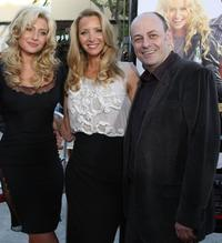 Aly Michalka, Lisa Kudrow and Todd Graff at the premiere of