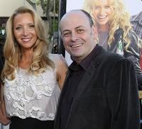 Lisa Kudrow and Todd Graff at the premiere of
