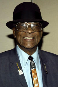 Hubert Sumlin at the New York premiere of