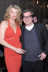 Stephanie Romanov and Griffin Dunne at the 2011 Tribeca Film Festival after-party presented by American Express and The Cinema Society for