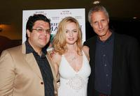 Heather Graham, Alfredo De Villa and Robert Baruc at the premiere of