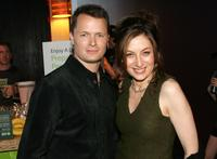 Holter Graham and Annabelle Gurwitch at the Discovery Upfront Presentation NY - Talent Images.
