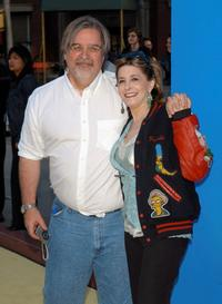 Matt Groening and Pamela Hayden at the 350th episode block party of