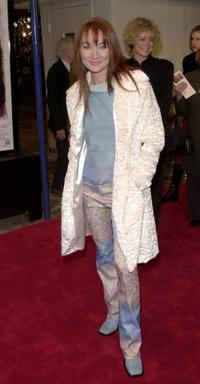 Lari White at the premiere of