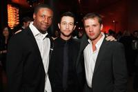 Rob Brown, Joseph Gordon-Levitt and Ryan Phillippe at the after party of the premiere of