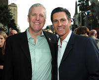 Mike Rich and Mark Ciardi at the premiere of