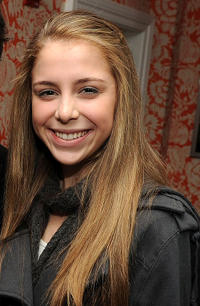 Makenzie Vega at the after party of Cinema Society & Screenvision of
