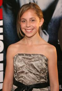 Makenzie Vega at the premiere of
