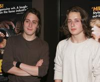 Rory Culkin and his brother Kieran Culkin at the premiere of